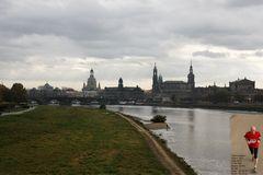 Dresden am MarathonTag