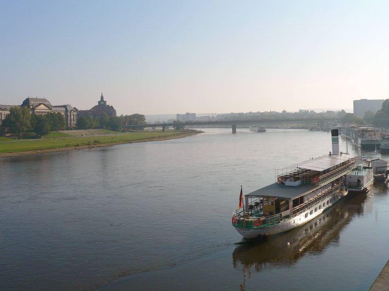 Dresden am Morgen