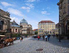 Dresden - an der Frauenkirche