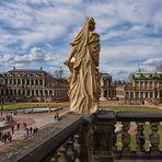 Dresden  -   Barock - Kunst  - Zwinger