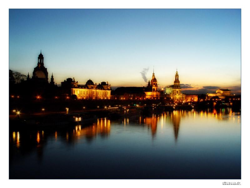 Dresden bei Nacht (i)