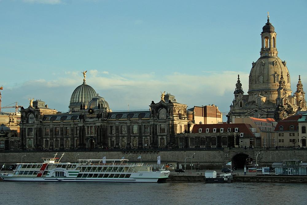 Dresden: Blick auf die Altstadt