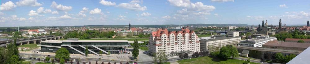 Dresden, Blick nach Norden