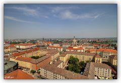 Dresden - Blick vom Rathausturm - 1