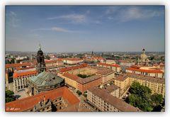 Dresden - Blick vom Rathausturm - 2
