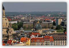 Dresden - Blick vom Rathausturm - 5