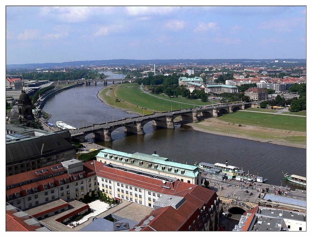 Dresden - Blick von der Frauenkirche