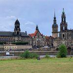 Dresden, damals und heute-wunderschön