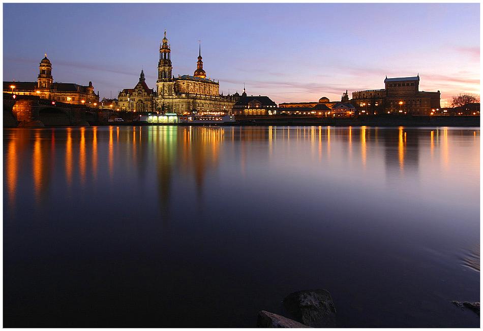 Dresden - das Elbufer