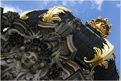 Dresden - Das Kronentor im Zwinger