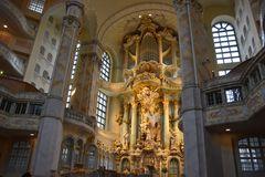 Dresden, der Altar in der Frauenkirche