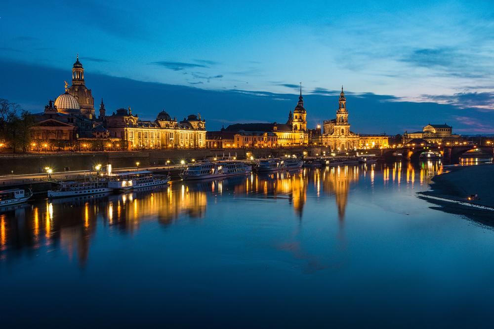 Dresden - die Skyline