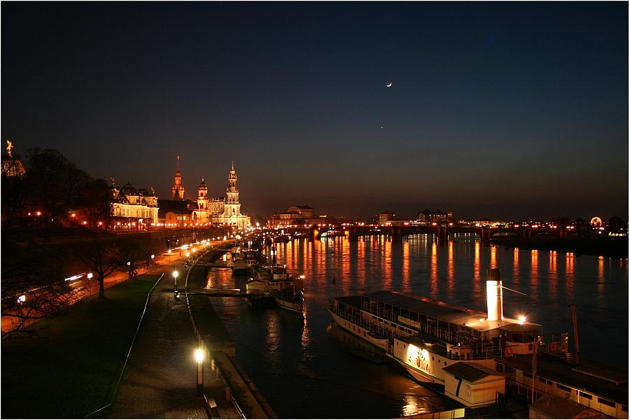 Dresden - Elbeblick...