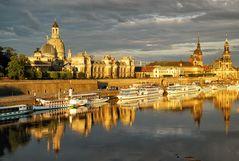 Dresden, früh am Morgen