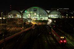 Dresden Hauptbahnhof...