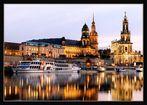 Dresden - Hofkirche und Brühlsche Terrasse II