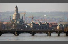 Dresden im März 2005