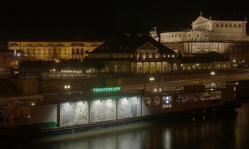 Dresden - Italienisches Dörfchen, Theaterkahn und Semperoper - mein erstes DRI