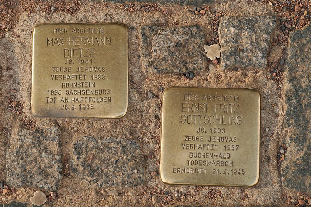 Dresden: Max Hermann Dietze und Ernst Fritz Gottschling
