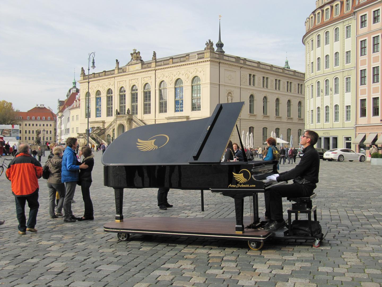 Dresden mit Musik