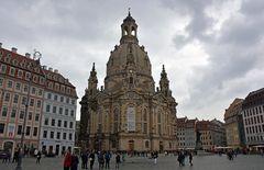 Dresden, Neumarkt mit Frauenkirche