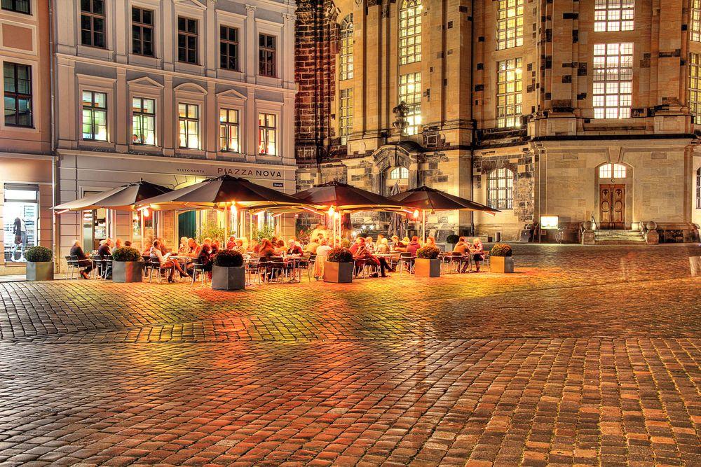 Dresden - Restaurant an der Frauenkirche