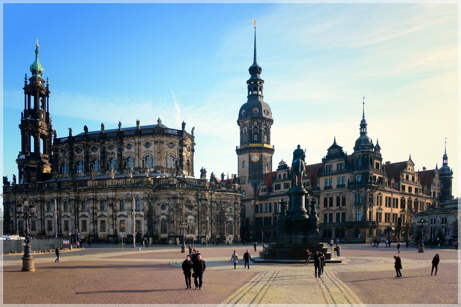 Dresden Schloss und Hofkirche