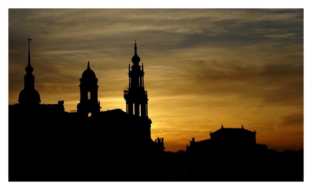 Dresden-Sonnenuntergang-2