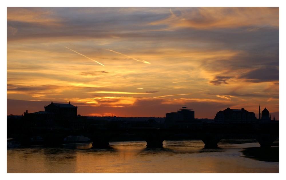 Dresden-Sonnenuntergang-3