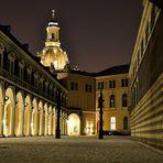 Dresden Stallhof mit Frauenkirche