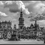 Dresden-Theaterplatz High Light Panorama in SW*
