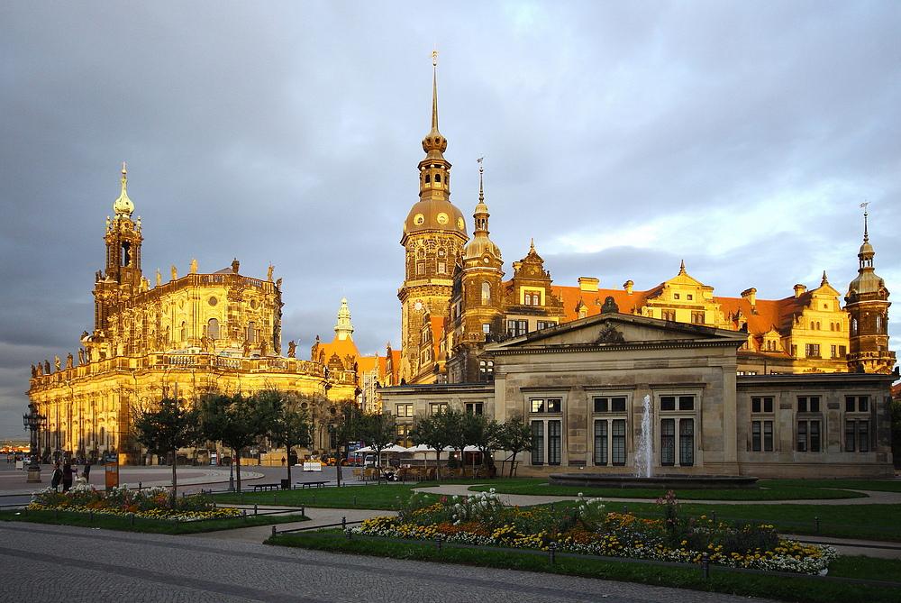 """Dresden """"vergoldet"""""""