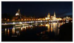 Dresden zur blauen Stunde 2