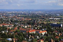 Dresdenblick von den Weinbergen