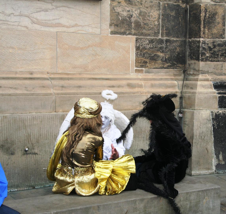 Dresdener Pantomimen im Gespräch