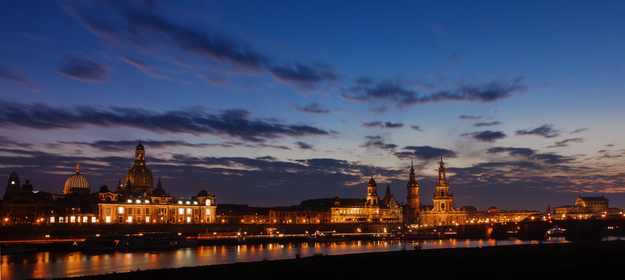 Dresdens wunderschöne Skyline