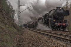 Dresdner Dampfloktreffen mit seinen historischen Eisenbahnen