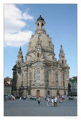 Dresdner Frauenkirche.