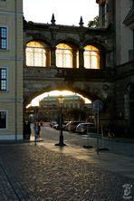Dresdner Zwinger  im Abendlicht