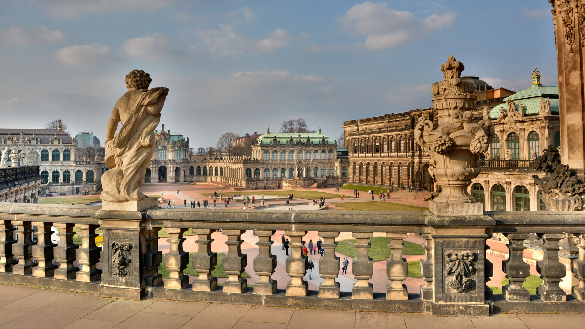 Dresdner Zwinger, Innere Altstadt, Dresden, Deutschland (5893)