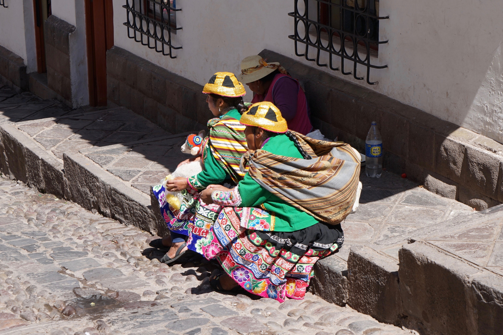 dressed up in cusco