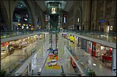 DRI vom Leipziger Hauptbahnhof
