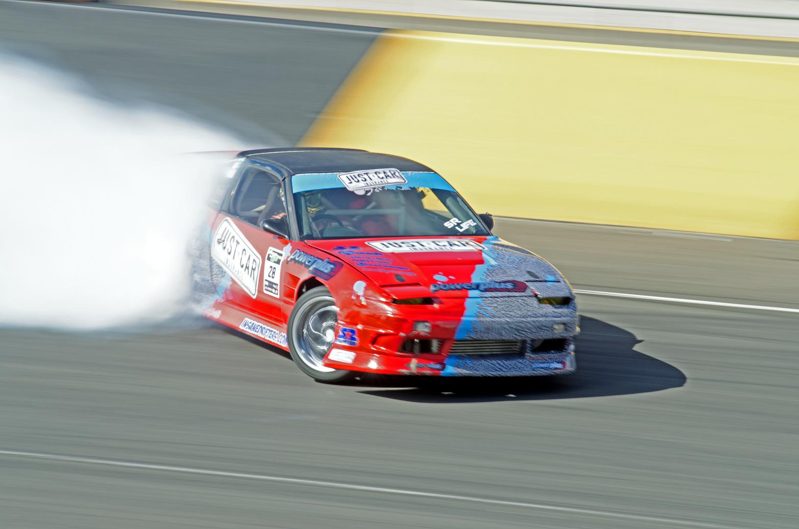 drifting car @Top Gear Event Sydney