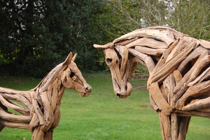 Treibholz Kunst driftwood-art - bezaubernde unikate der treibholzkunst foto & bild