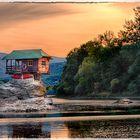 Drina Flusshaus