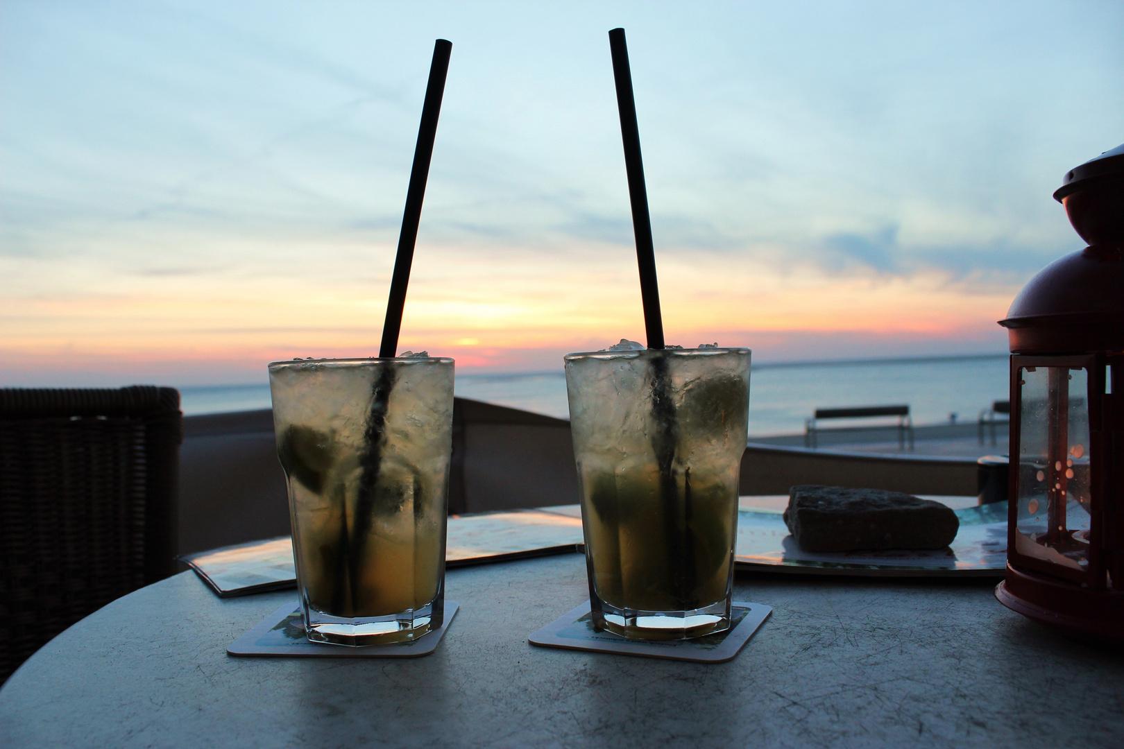 Drink mit Aussicht
