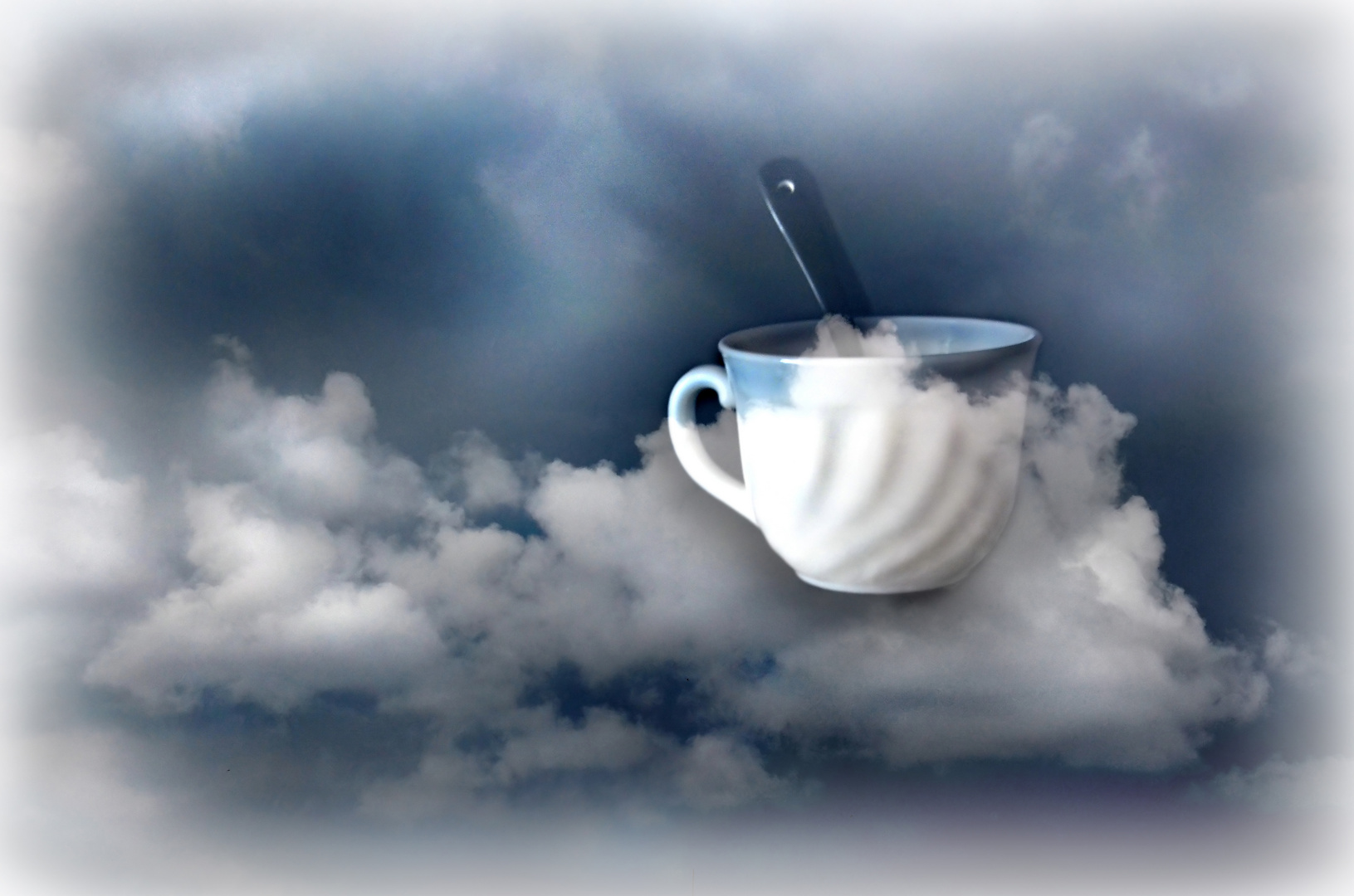Drink some clouds...