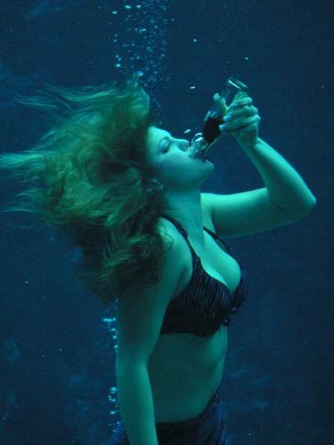 Drinking Underwater