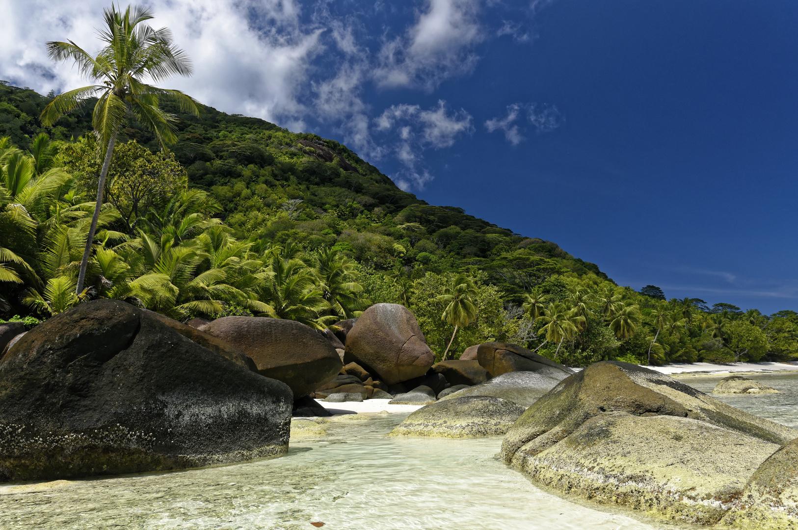 Drittgrößte Seychelleninsel