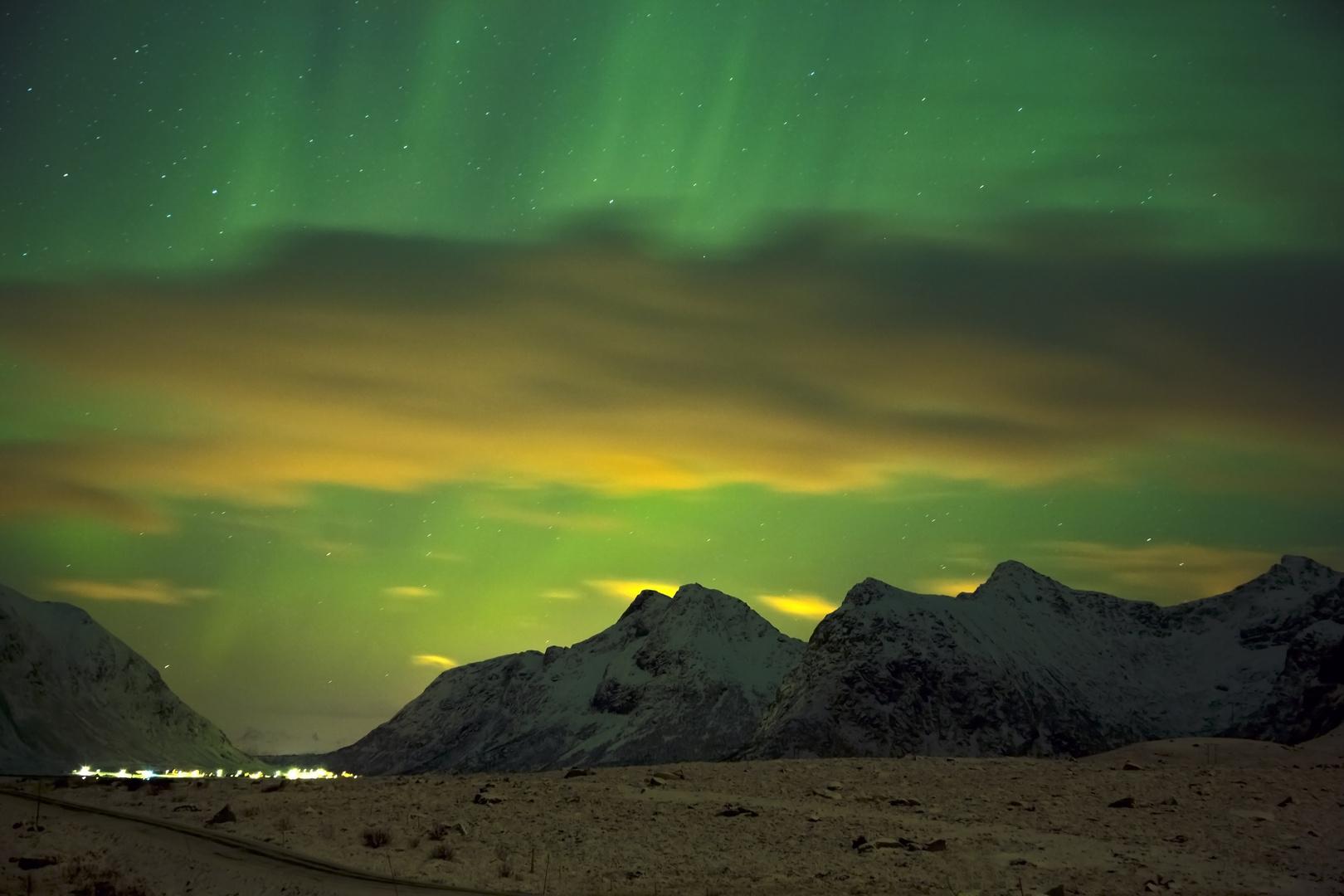 Driving Lofoten Norway
